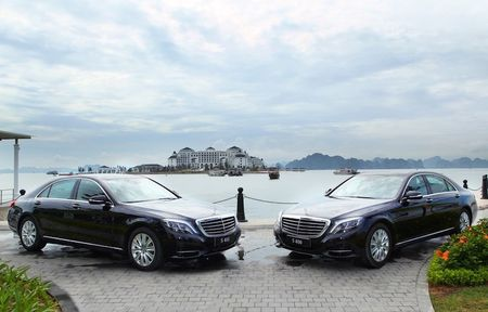 Cap doi Mercedes S-Class cap ben Vinpearl Ha Long Bay - Anh 3