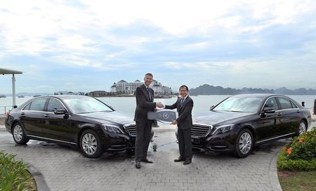 Cap doi Mercedes S-Class cap ben Vinpearl Ha Long Bay - Anh 6