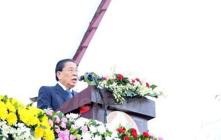 Muc kich Quan doi Lao dieu binh chao mung 40 nam Quoc khanh - Anh 1
