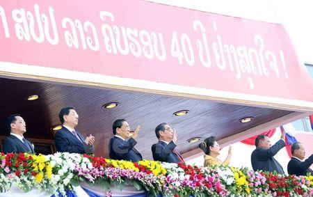 Muc kich Quan doi Lao dieu binh chao mung 40 nam Quoc khanh - Anh 2