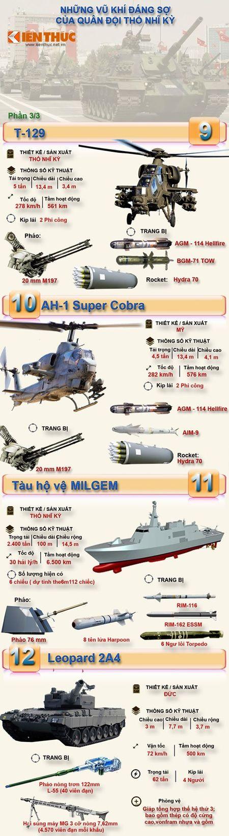 Infographic: Kho vu khi dang so cua Tho Nhi Ky (3) - Anh 1