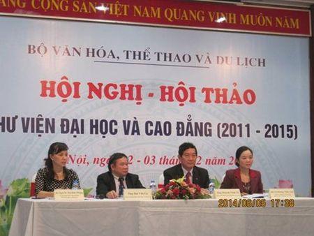Hoi thao Thu vien dai hoc va cao dang (2011-2015) - Anh 1