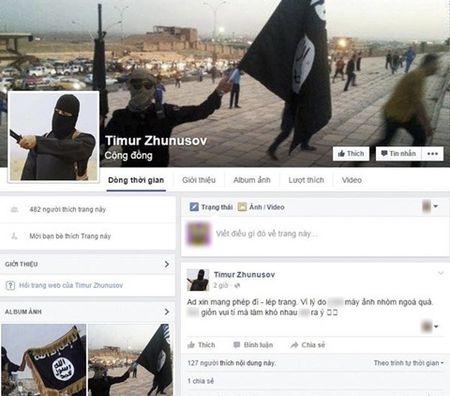 Da tim ra 3 ke lap facebook de doa, kich dong khung bo IS - Anh 1