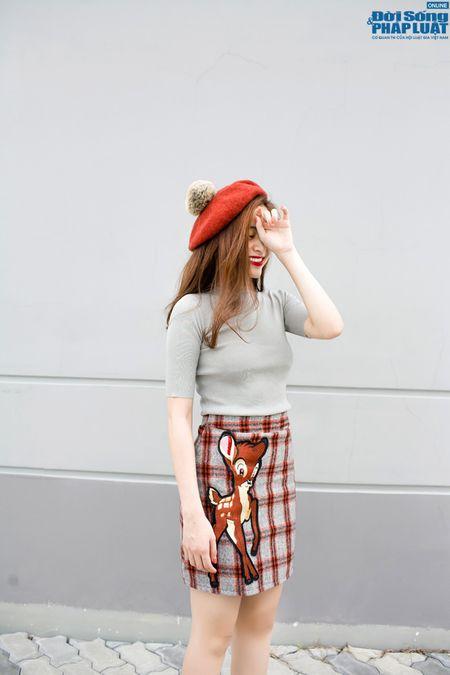 Street style xuong pho chat nhu Hoang Thuy Linh - Anh 4