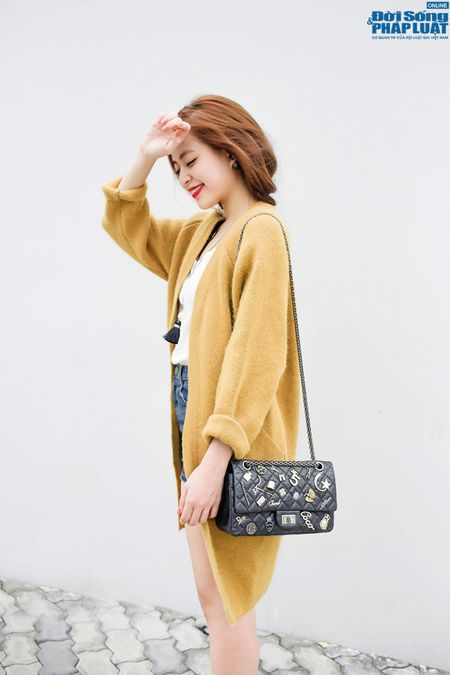 Street style xuong pho chat nhu Hoang Thuy Linh - Anh 7