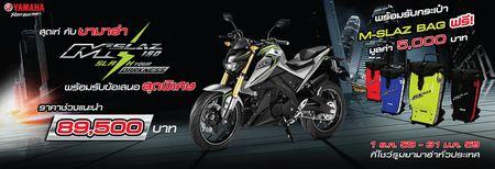Yamaha M-SLAZ ra mat tai Thai Lan - Anh 13