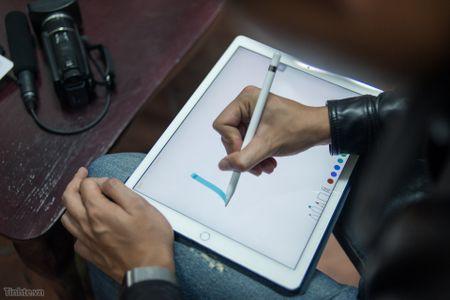 Tren tay Apple Pencil cho iPad Pro: dep, nhe, nhay, khong co dau tay - Anh 14