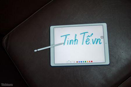 Tren tay Apple Pencil cho iPad Pro: dep, nhe, nhay, khong co dau tay - Anh 17