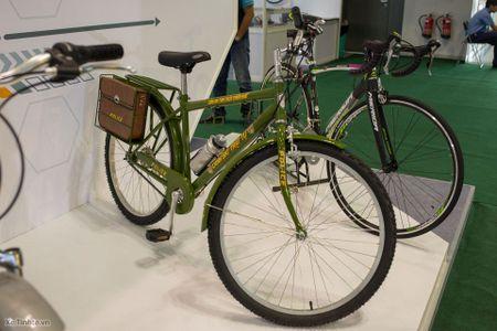 Hinh anh trien lam xe hai banh Vietnam Cycle 2015: rat nhieu xe dap truyen thong, it phu kien - Anh 9