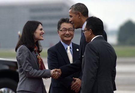 TT Obama moi 10 lanh dao ASEAN toi My hop ve bien Dong - Anh 1