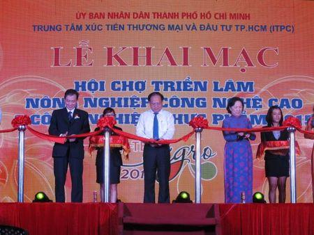 Khai mac Hoi cho Hi-Tech Agro 2015 - Anh 1