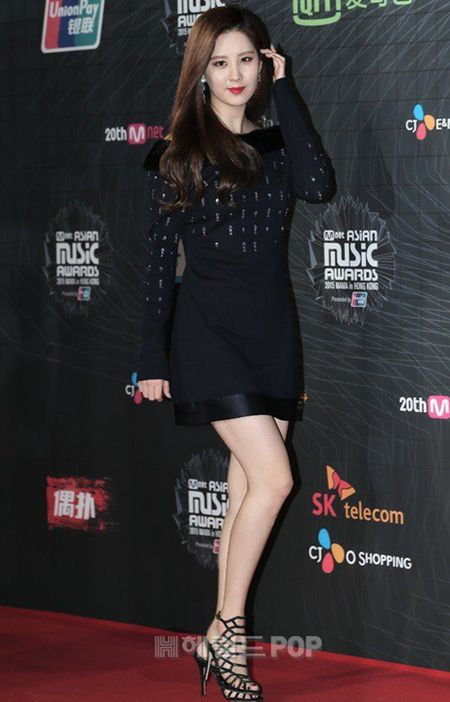 Tae Yeon goi cam, EXO trang diem dam tai MAMA 2015 - Anh 6
