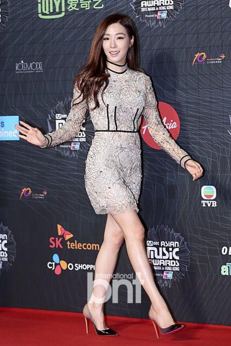 Tae Yeon goi cam, EXO trang diem dam tai MAMA 2015 - Anh 7