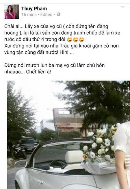 "Ngoc Thuy muon chuyen Mark Zuckerberg ""da deu"" chong cu Duc An - Anh 2"