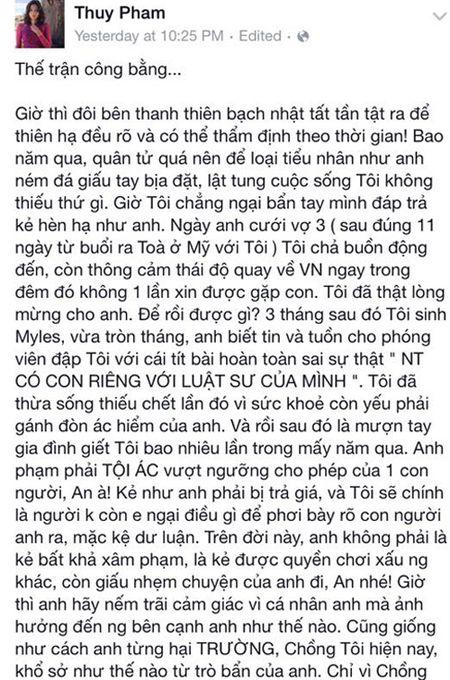"Ngoc Thuy muon chuyen Mark Zuckerberg ""da deu"" chong cu Duc An - Anh 3"
