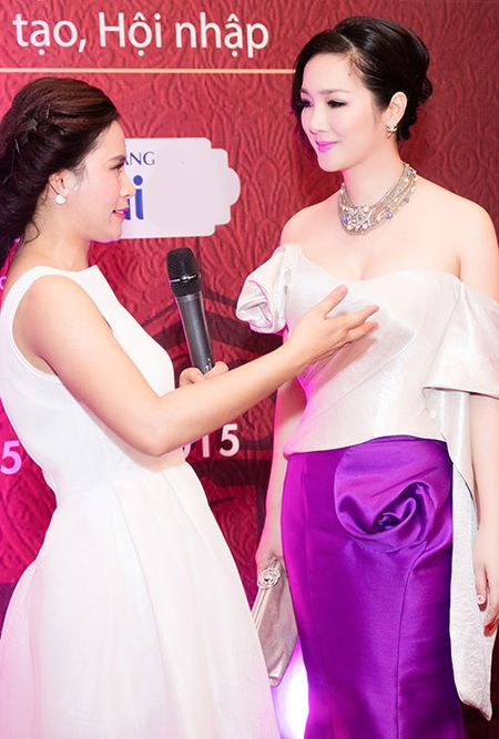 HH Giang My dep long lay ben Mai Thu Huyen - Anh 6