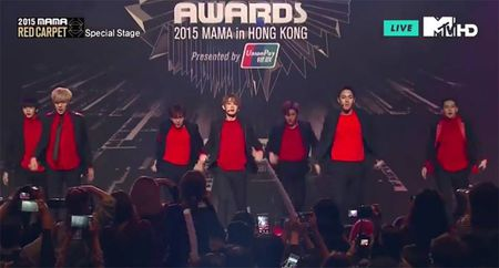 EXO giat giai Nghe si chau A co phong cach an tuong nhat o MAMA 2015 - Anh 21