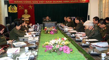 Hoi nghi kiem diem tu phe binh va phe binh cua tap the Dang uy, lanh dao Bao Cong an nhan dan - Anh 1