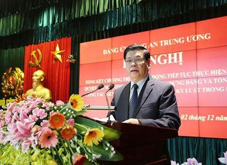 Dang bo Cong an Trung uong di dau trong quan triet, thuc hien Nghi quyet Trung uong 4 (khoa XI) - Anh 2