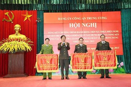 Dang bo Cong an Trung uong di dau trong quan triet, thuc hien Nghi quyet Trung uong 4 (khoa XI) - Anh 3