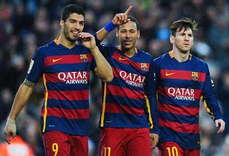 """Neymar, Messi che Ronaldo, doi """"cong ly"""" cho Suarez - Anh 1"""