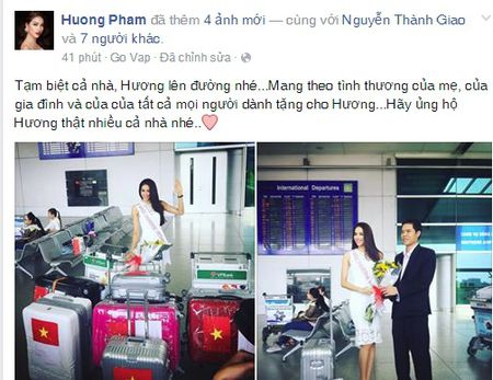 Ho Ngoc Ha chuc Pham Huong may man tai HHHV 2015 - Anh 1
