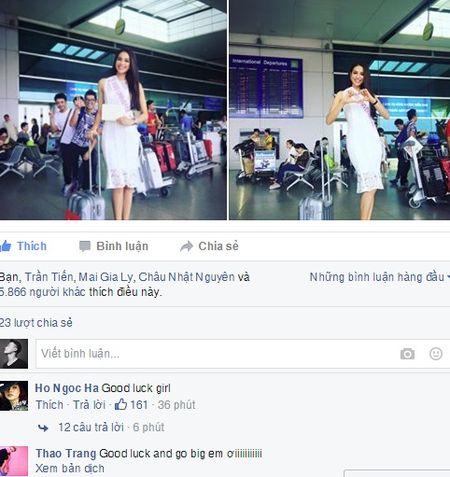 Ho Ngoc Ha chuc Pham Huong may man tai HHHV 2015 - Anh 2