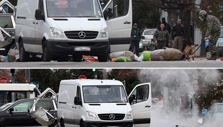 San bay lon nhat Bulgaria bi de doa danh bom xe - Anh 1