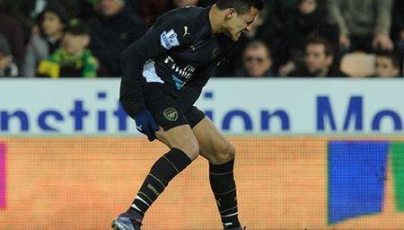Arsenal choang vang voi chan thuong cua Alexis Sanchez - Anh 1