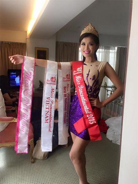 Pham Huong len duong thi Miss Universe 2015, Oanh Yen kien quyet... khong nop phat - Anh 5