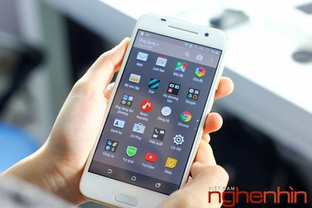 Mo hop HTC One A9 phien ban vang topaz - Anh 19