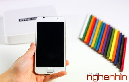Mo hop HTC One A9 phien ban vang topaz - Anh 5
