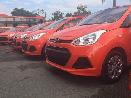 Taxi Phuong Trang nhan 100 dau xe moi tu Hyundai - Anh 2