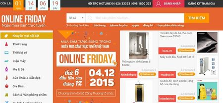 Co gi trong ngay Online Friday 2015? - Anh 1