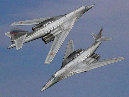 Kinh hoang truoc suc manh lam chu bau troi cua Tu-160 - Anh 15