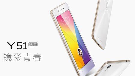 Vivo am tham gioi thieu smartphone gia re Y51 - Anh 1