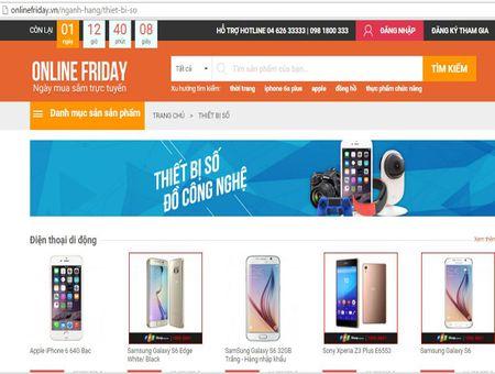Online Friday 2015: Loai khoi website nhung khuyen mai chat luong kem - Anh 1