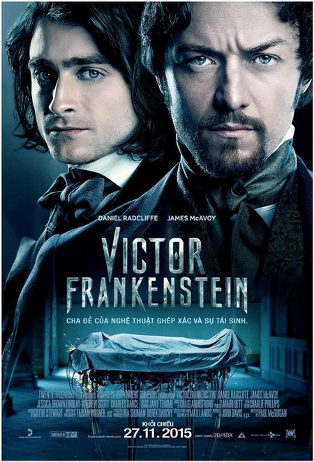 Phim quai vat 'Victor Frankenstein': Binh moi, ruou cu - Anh 1
