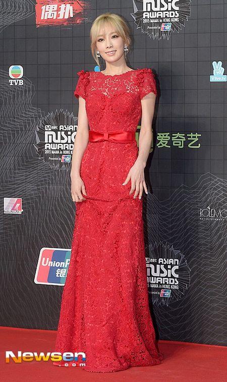 Tae Yeon (SNSD) long lay voi dam ren do tai MAMA 2015 - Anh 1