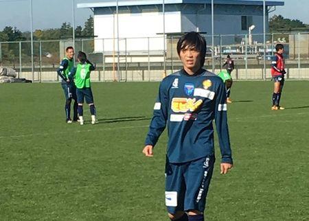 Tuan Anh ghi ban tai CLB Yokohama FC - Anh 1