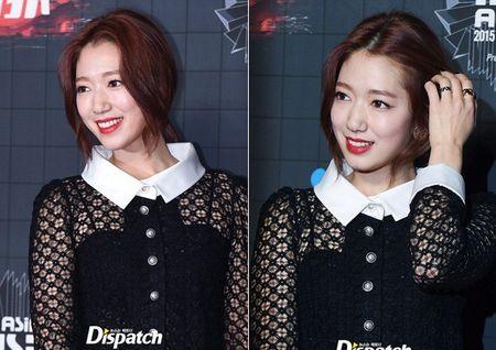 Park Shin Hye trang diem dam o MAMA 2015 - Anh 2