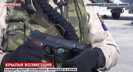 Xem vu khi tu ve cua phi cong Nga o Syria - Anh 1