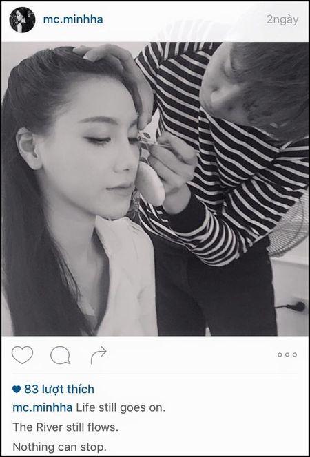 "MC Minh Ha tai xuat sau scandal ""ngoai tinh"" voi Chi Nhan - Anh 1"