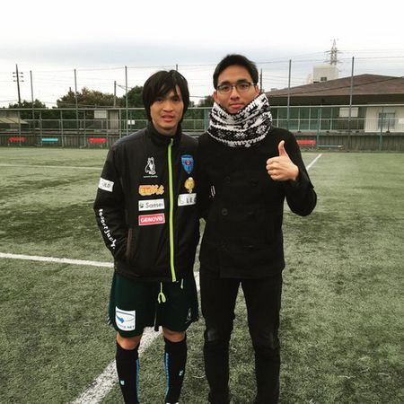 Tuan Anh tap 'sung' va ghi ban o Yokohama FC - Anh 1