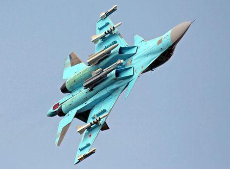 """Su- 34 Nga san sang dap tra cac cu """"dam sau lung"""" - Anh 2"""