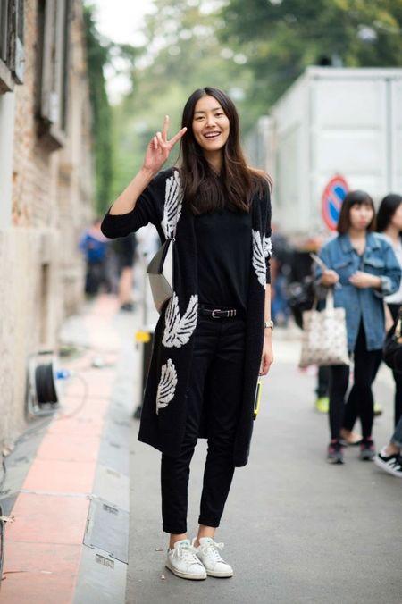 Ngam Street Style cua thien than Victoria's Secret chau A-Liu Wen - Anh 10