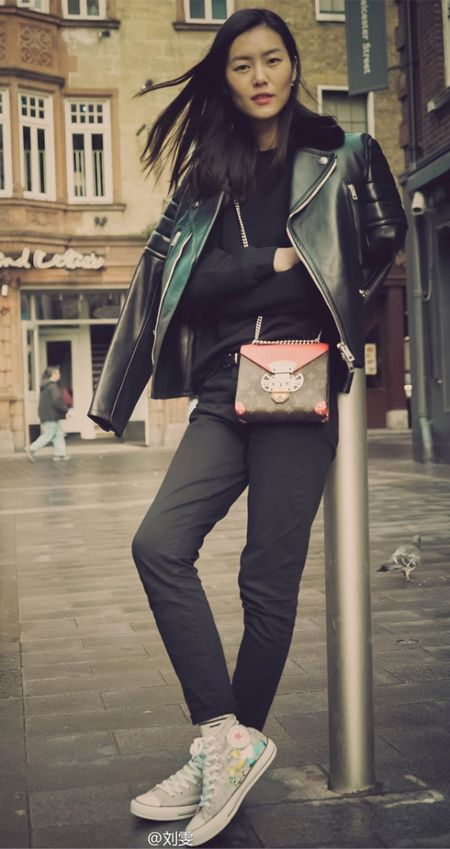 Ngam Street Style cua thien than Victoria's Secret chau A-Liu Wen - Anh 11
