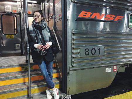 Ngam Street Style cua thien than Victoria's Secret chau A-Liu Wen - Anh 2