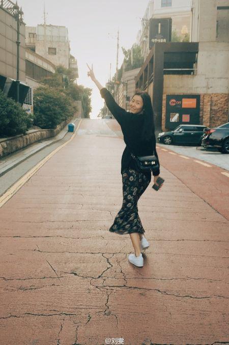 Ngam Street Style cua thien than Victoria's Secret chau A-Liu Wen - Anh 4