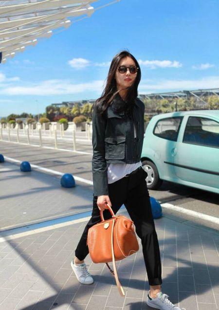 Ngam Street Style cua thien than Victoria's Secret chau A-Liu Wen - Anh 8